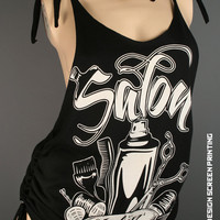 Salon clothing - salon stylin tank top