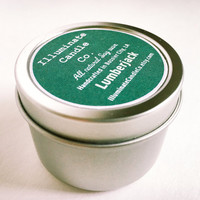 Lumberjack Soy Candle,Soy Candle Tin, Scented Soy Candles, Hand Poured Soy Candles, Soy Candles Handmade