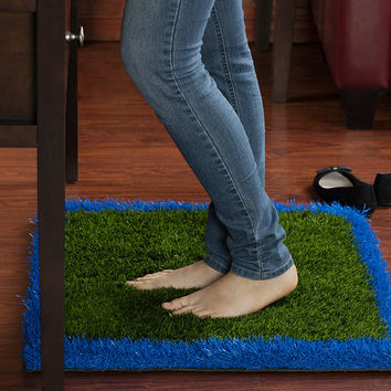 Anti-Fatigue Rug & Comfort Mat: For Home Or Office Desk - Relaxes and Soothes Feet