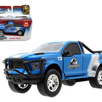 Jurassic World Movie Rescue Truck 1-43 Diecast Model Car by Jada