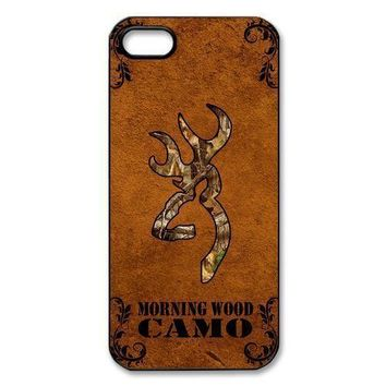 Camo Browning Case for iPhone 4 4S 5 5S 5C 6 6s Plus Samsung Galaxy S3 S4 S5 Mini S6 Edge Plus A3 A5 A7