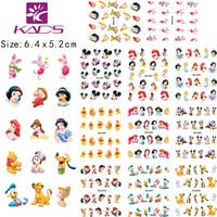 KADS LARGE 1set (11 Sheet IN 1).Water decal Nail Stickers Cartoon design nail sticker For nail accessories