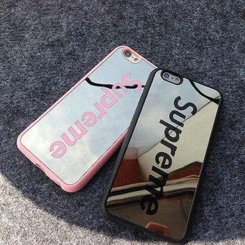 Supreme Sliver Mirror Case for iPhone