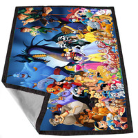 all character disney 2 b6a9df13-4b58-452c-a7de-c501ee39e058 for Kids Blanket, Fleece Blanket Cute and Awesome Blanket for your bedding, Blanket fleece *02*