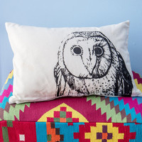 ModCloth Owls Owl Around Adorable Pillow
