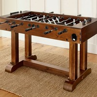 Pottery Barn Foosball Table