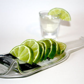Recycled Corona Beer Bottle - Eco-Friendly Glass Lime Tray