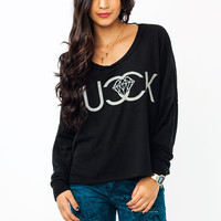 Fucck-Jewels-Graphic-Sweatshirt BLACK OFFWHITE - GoJane.com