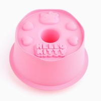 Hello Kitty Silicone Cake Mold: Pink
