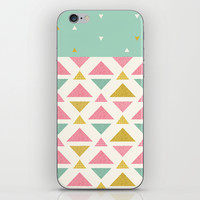 Mint & Strawberry Cream Chips iPhone & iPod Skin by CharmHappens
