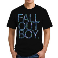 Fall Out Boy Flower Vintage T-Shirts, Shirt, Shirts, Men's Shirts, Men's Tee, Men's T-Shirt