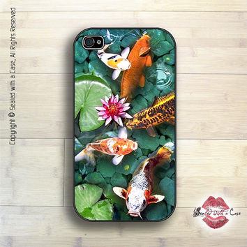 Goldfish / Koi Pond - iPhone 4 Case, iPhone 4s Case and iPhone 5 case