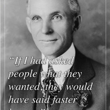 HENRY FORD, INDUSTRIALIST motivational inspirational QUOTE POSTER 24X36