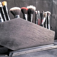 Coffin Makeup Brush Holder, Coffin, Gothic, Makeup, Makeup Organization, Brush Holder, Glam Goth, Makeup Brushes