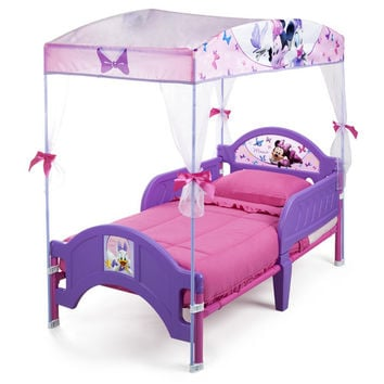 Disney Minnie Mouse Bow-tique Canopy Bed