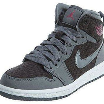 Preschool Nike Air Jordan Retro 1 High GP Basketball Shoes (1) nike air retro jordan