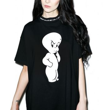 Lazy Oaf X Casper T-Shirt | Dolls Kill