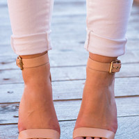 Vow To Be Chic Heels, Nude