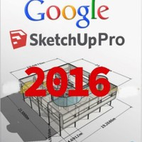 Google SketchUp Pro 2016 License Key + Crack Full Free