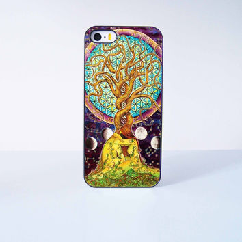 Tree of Life Plastic Phone Case For iPhone iPhone 5/5S More Case Style Can Be Selected