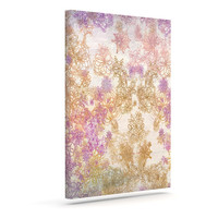 "Marianna Tankelevich ""Retro Summer"" Yellow Pink Canvas Art"