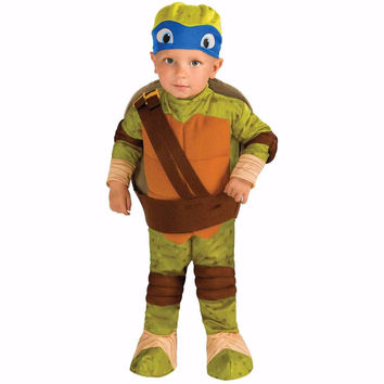 Teenage Mutant Ninja Turtle Leonardo Toddler Halloween Costume, Size 2T