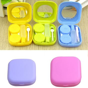 Portable Pocket Mini Contact Lens Case Travel Kit   FREE SHIPPING