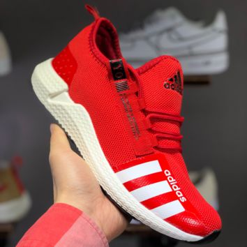 HCXX A1471 Adidas Yeezy Boost POD-S3.1 Breathable Running Shoes Red