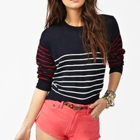 Sylvie Stripe Knit in  What's New at Nasty Gal
