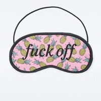 Pineapple Eye Mask - Urban Outfitters