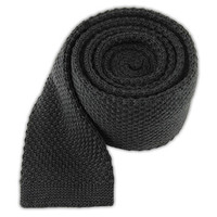 KNIT SOLID WOOL - GRAPHITE