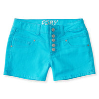 PS from Aero  Kids' High-Waisted Color Wash Shorty Shorts