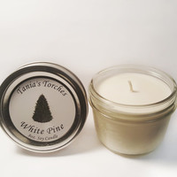 Pine Soy Candle Tree Scented Candles Hand Poured