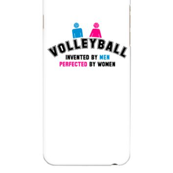 Volleyball invented by men, perfected by women - iphone 6 Plus Case