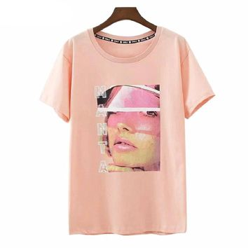 Girl With Visor T-Shirt
