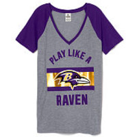 PINK Ravens Jerseys, Pullovers, V-Necks & Crews