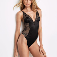 Chantilly Lace & Satin Teddy - Very Sexy - Victoria's Secret