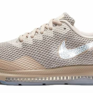 Nike Zoom All Out Low 2 + Swarovski Crystals - Moon Particle/Sand