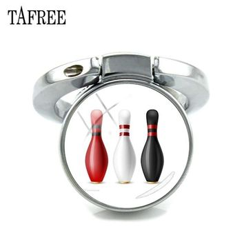 Family Friends party Board game TAFREE New Keyring Finger Fing For Phone Bowling Art Picture Glass Dome Expanding Desk Phone Holder 180 Degrees Fold Gift SP866 AT_41_3