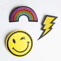 Everything Is Awesome Patch Pin Set