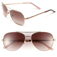 Women's kate spade new york 'avaline' 58mm aviator sunglasses