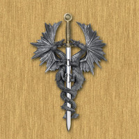 Dragon Sword Wall Plaque