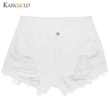 Women short female Summer Jeans Denim shorts for women pantaloncini donna girl Fashion beach solid Waist feminino short FB20A