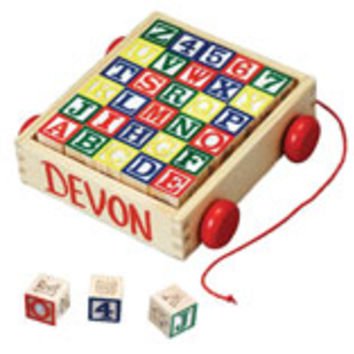 Melissa And Doug Wooden Alphabet Blocks With Personalized C