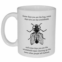 Bug and Windshield Coffee or Tea Mug
