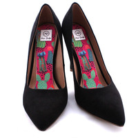 BLACK FRIDAY SPECIAL- 25% off Cactus Collector Airpufs. Hot Pink Prickly Succulents High Heel Shoe Insoles