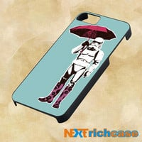 funny umbrella pop art  For iPhone, iPod, iPad and Samsung Galaxy Case