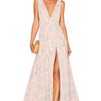 Lovers + Friends x REVOLVE Leah Gown in Floral | REVOLVE