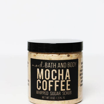 Coffee Sugar Scrub | Mocha Coffee Scrub | Exfoliating Scrub | Whipped Sugar Scrub | Bath and Beauty