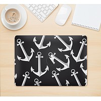 """The Black Anchor Collage Skin Kit for the 12"""" Apple MacBook"""